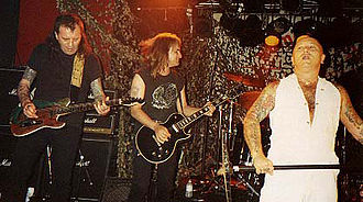 Rose Tattoo - Rose Tattoo in 1993; Angry Anderson at right