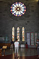 Rose Window and Labyrinth - Nelson Cathedral (4428127560).jpg