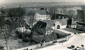 Roskilde Royal Mansion - Roskilde Mansion in 1948