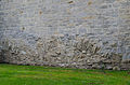 Rothenburg ob der Tauber, Stadtmauer, Klingenschütt, Feldseite, 006.jpg