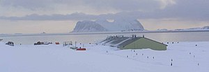 Rothera Research Station - The New Bonner Lab at Rothera Station in November 2003.
