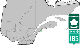 Image illustrative de l'article Route 185 (Québec)