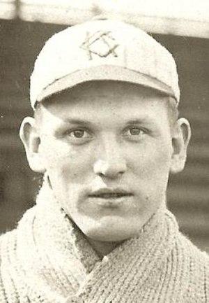 Roy Sanders (National League pitcher) - Image: Roy Garvin Sanders