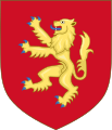 Royal Arms of England (1154-1189).svg