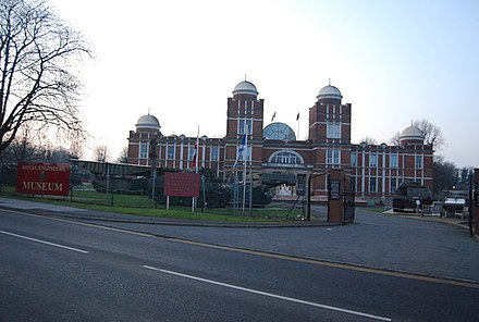 The Ravelin Building at the Royal School of Military Engineering, Chatham, is now home to the Institution and the Corps Museum. Royal Engineers Museum, Prince Arthur Rd, Gillingham (2) - geograph.org.uk - 1148711.jpg