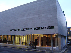 Royal Hibernian Academy - RHA building in Ely Place