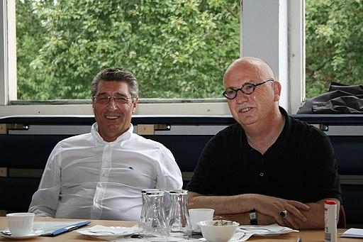 Rudi Assauer und Christian Stratmann