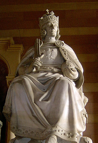 Rudolf I of Germany - Rudolf of the House of Habsburg, Speyer Cathedral, Germany.