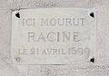 Rue Visconti, plaque Racing 2.jpg
