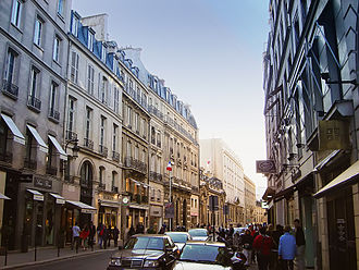 Rue du Faubourg Saint-Honoré - View of the street in 2005