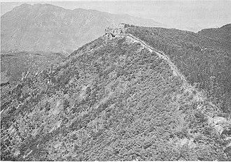 Battle of Ka-san - Image: Ruins of Ancient Fortress on Ka san