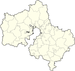 Podolsk is located in Moscow Oblast