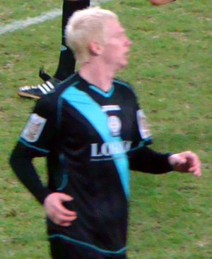 Ryan McGivern - McGivern playing for Leicester City in 2010.