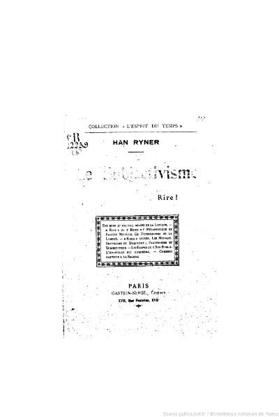 File:Ryner - Le Subjectivisme, Gastein-Serge.djvu