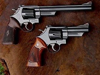 Smith & Wesson Model 29 - Image: S&W Model 29 comparison
