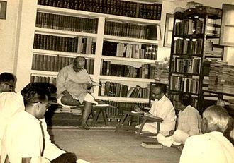 S. R. Ramaswamy - S. R. Ramaswamy with D. V. Gundappa