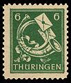 SBZ Thüringen 1945 95 Posthorn.jpg