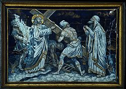 SECOND STATION Jesus takes up his Cross.jpg