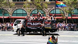 Leather subculture - Organizers of Folsom Street Fair in the San Francisco Pride 2014 parade
