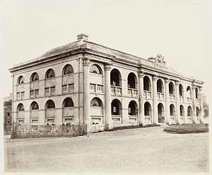 Fort Street High School - Fort Street High School in 1872