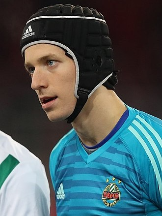 Richard Strebinger - Strebinger with Rapid Wien in 2018