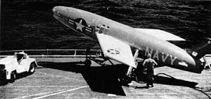 SSM-N-8 Regulus on flight deck c1955.jpg