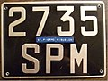 ST. PIERRE and MIQUELON license plate Flickr - woody1778a.jpg