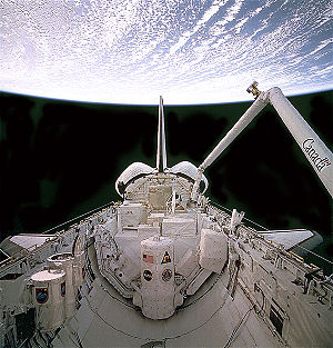 STS-66 - Image: STS 66 Spas