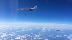 Kh-55 - Tu-160 launching Kh-101 against targets in Syria, November 2015