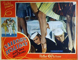 Sailor's Holiday - Lobby card