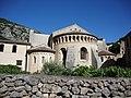 Saint-Guilhem-le-Désert abbaye de Gellone extérieur 3.JPG