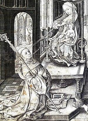 Danses gothiques - The Lactation of Saint Bernard
