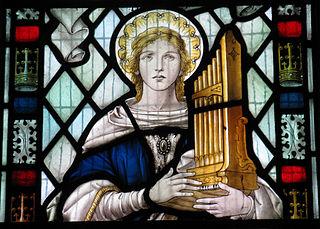<i>Hymn to St Cecilia</i>