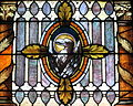 Saint Nicholas Catholic Church (Zanesville, Ohio) - stained glass, Eagle of John.jpg