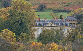 The Château of Avauges, in Saint-Romain-de-Popey