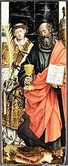 Saints John the Evangelist and Lawrence