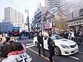 Saitama Seibu Lions Victory Parade 2018 Toyota Crown and Sky Bus Tokyo.jpg
