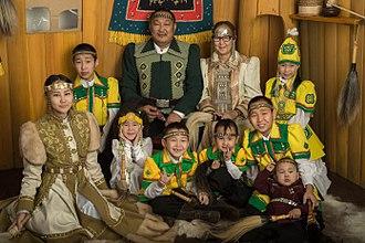Yakuts - a Yakut family