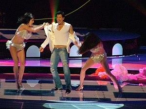 Sakis Rouvas - Rouvas representing Greece at the Eurovision Song Contest 2004 in Istanbul, 15 May 2004