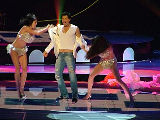 Greece in the Eurovision Song Contest 2004 - Rouvas representing Greece at the Eurovision Song Contest 2004 in Istanbul on May 15, 2004.