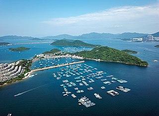Yim Tin Tsai (Tai Po District) island in Peoples Republic of China