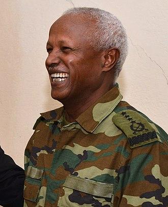 Chief of General Staff (Ethiopia) - Image: Samora Yunis