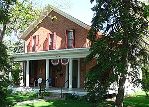 National Register of Historic Places listings in Dodge County, Nebraska - Image: Samuel Bullock House from SE 3