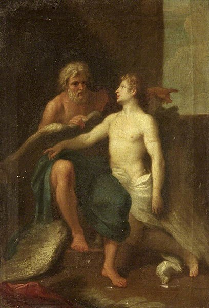 File:Samuel Woodforde (1763-1817) (attributed to) - Daedalus and Icarus - 732243 - National Trust.jpg