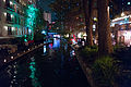 San Antonio Riverwalk at Night with Christmas Lights (2014-12-12 22.36.46 by Nan Palmero).jpg