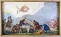 San Daniele (Padua) - interior - Fresco by Sebastiano Santi The martyrdom of St. Daniel.jpg