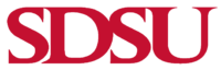 Current San Diego State University 'SDSU' Logo
