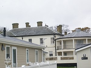 Hugh Rose, 1st Baron Strathnairn - Sandhills, Christchurch, Dorset, Rose's summer residence