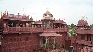 Sanganer Town in Rajasthan, India