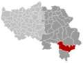 Sankt-Vith Liège Belgium Map.png